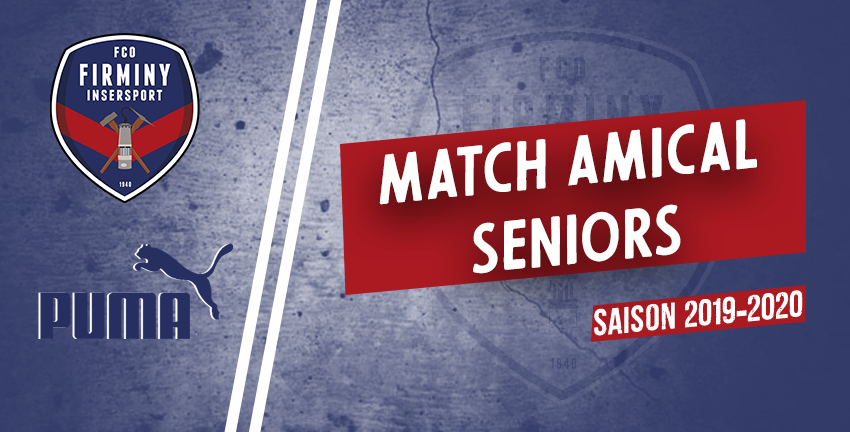 Match amical seniors