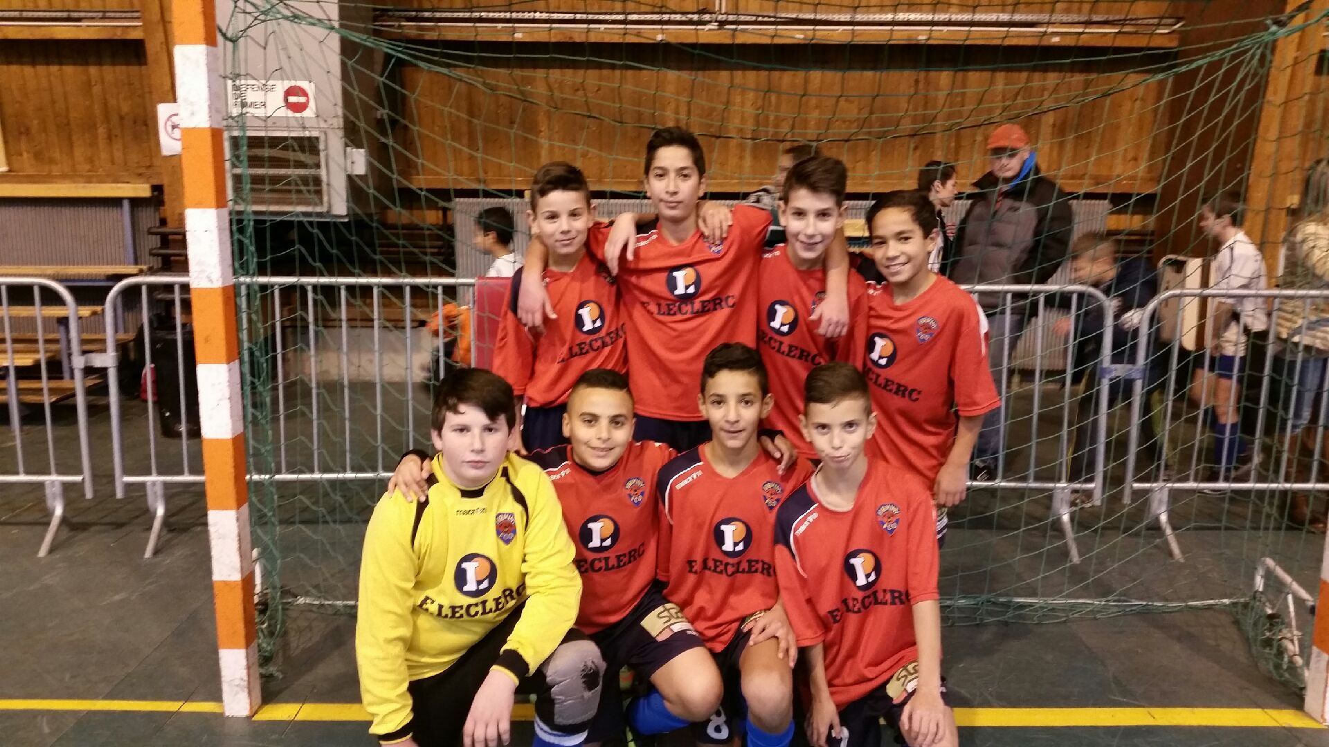 Tournoi du district de la Loire : Les U13 du FCOFI se qualifient pour la phase finale