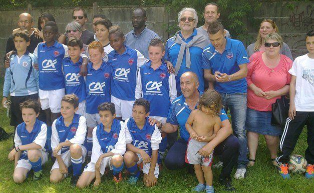 Journée des clubs partenaires ASSE - FCO Firminy Insersport