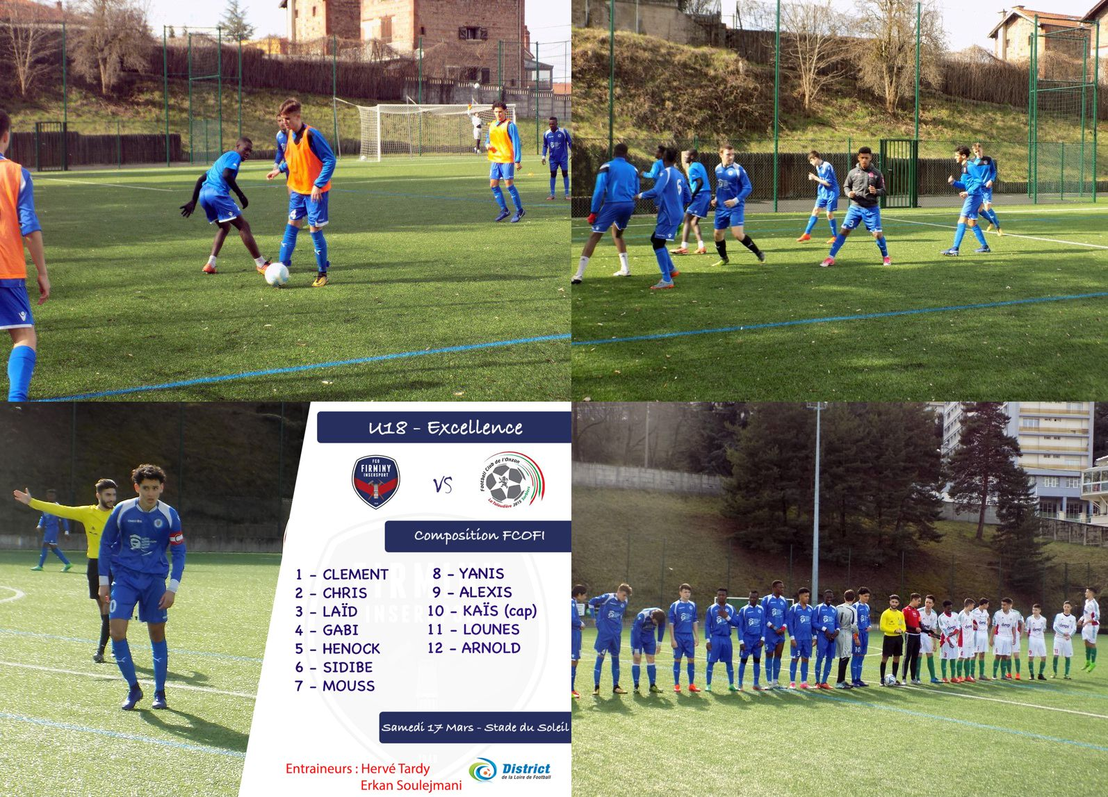 le match du week-end  u2013 samedi 17 mars 2018